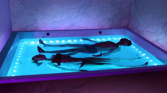 Healing Meditation Inside a Float Tank
